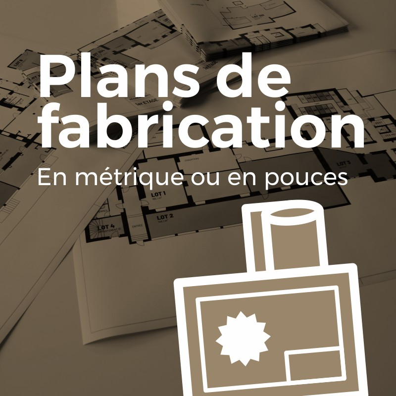 plan de fabrication, plan technique, Fertigungspläne, Technische Pläne, Patrick Burnens
